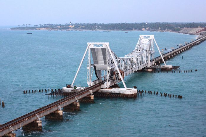 Image result for pamban bridge e sreedharan